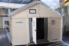 イケアの新たな組み立て家具 「難民キャンプの仮設シェルター」