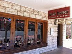 Fredericksburg, TX  Java Ranch Espresso Bar