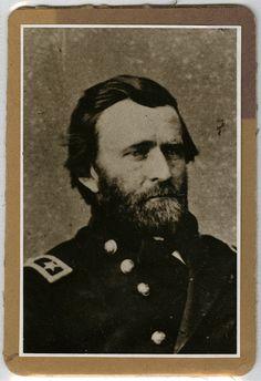 Portrait of Ulysses S. Grant, ca. 1861. Stiles E. Forsha Civil War Correspondence Collection. Civil War Narratives.