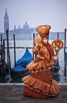 Fanciful ----- Carnival in Venice, Veneto, Italia.