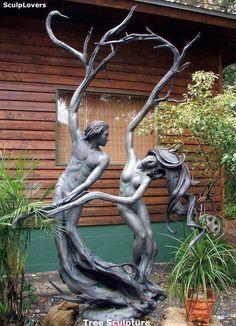 Árvore escultura.
