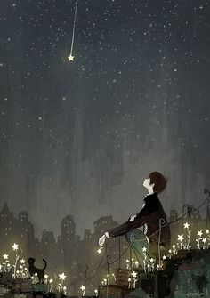 알 수 없는 이유로 태어난 별들이 셀 수 없이 많은 날들을 그 자리에서 빛났던 것처럼 아무런 기약도 없이 그리움만 남아  당신은 내 안에 아직도 빛나고 있네   나의 어릴 적 꿈에서처럼  이 차가운 도시에 별들이 내려와 꽃을 피운다면 그대와 다시 사랑할 수 있을까   이 남자의 초라한 고백도 별을 가장한 그 어떤 아름다운 거짓도 오늘 그대에게 속삭일 수 없는 건......  By  현현(endmion1)