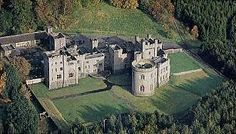 Gosford castle -aerial view