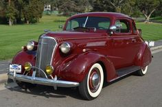1937 Chevrolet Master Deluxe Rumble Seat Coupe