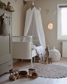 Baby Girl Nursery Room İdeas 406731410100868564 - Isn't this the most amazing kids bedroom idea? I'm absolutely loving this decor and design. And just look at the cute tepee, boho round floor rug and the pretty cot! Source by leylamayu Baby Room Boy, Baby Bedroom, Girl Room, Girls Bedroom, Child Room, Nursery Room, Girl Nursery, Childrens Room Decor, Baby Room Decor