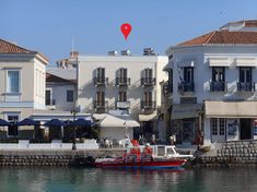 Alexandris Hotel is located on the beautiful Port of Dapia Double Glazed Window, In The Heart, Greek Islands, Mansions, House Styles, Nature, Travel, Beautiful, Instagram