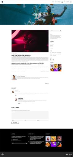 Share your creative passion with Boldlab, a contemporary WordPress theme. Ui Design, Layout Design, Simple Wordpress Themes, New Instagram, Web Design Inspiration, Material Design, Blogging For Beginners, Lorem Ipsum, Simple Designs