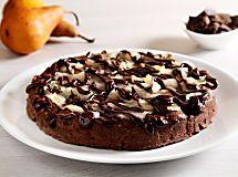 Ricetta Torta al cioccolato, frutta secca e pere