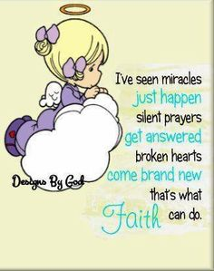 Beautiful miracle! This is why I named my precious angel Faith. ♥