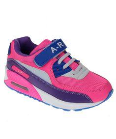 d1efcbe7db2b6 Kids Outdoor Running Shoes Strap Breathable Hiking Shoes(Toddler Little Kid Big  Kid) - 1188-fuschia Navy - CB17YDACRDO