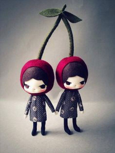 Me encantannn, love it! Dolls about tall, (stem including are Plush Dolls, Doll Toys, Barbie Y Ken, Sewing Dolls, Little Doll, Soft Dolls, Soft Sculpture, Diy Doll, Cute Dolls