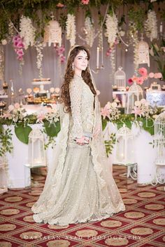 Pakistani Boutique Style Embroidered Lehenga for Wedding Brides Nikkah Dress, Pakistani Formal Dresses, Pakistani Wedding Outfits, Pakistani Wedding Dresses, Pakistani Dress Design, Pakistani Clothing, Pakistani Suits, Bridal Wedding Dresses, Bridal Makeover