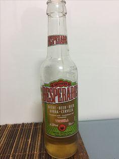 Desperados, cerveza alsaciana aromatizada  al tequila perteneciente al grupo Heineken. 5,9 %.