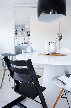 Stokke® Tripp Trapp chair | black and white home accents | scandinavian design for babies and kids