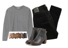 """""""Naked"""" by evrmorefanatic ❤ liked on Polyvore featuring Nobody Denim, T By Alexander Wang and Urban Decay"""