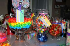 Candy/Sweets/Dessert/Rainbow Birthday Party Ideas | Photo 2 of 47