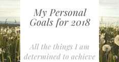 This year 2018 I have some ideas of things I need to achieve and I am determined to achieve. I would love you to comment below and share with me your aims for 2018 too.  1. I am going to lose weight and get back to my target weight.  2. I am going to make sure I continue taking my asthma medication and getting all the support with it I can so to hopefully be able to run again.  3. To make more time to keep in contact with friends.  4. To stop letting people drain my mental energy I need to…