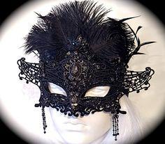 ee56af104fd9 Spider Web Mask Rhinestone Lace Masquerade Mask Mardi Gras Halloween Masks