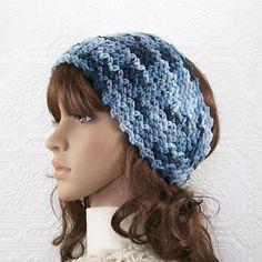 Crocheted headband headwrap ear warmer ❤ by SandyCoastalDesigns, $15.50