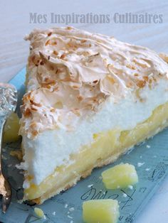tarte au lait de coco ananas meringuee 1