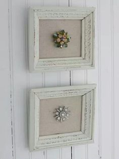 Display antique broaches