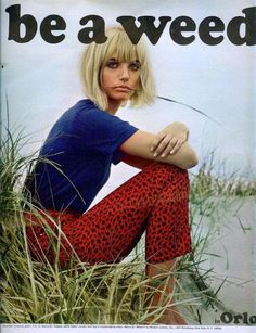 """""""be a weed...in Orlo"""", 1966."""