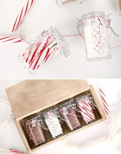 The perfect holiday gift pack :: DIY hot cocoa hostess gift basket