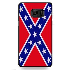 Rubber Confederate Rebel Flag TATUM-9342 Samsung Phonecase Cover For Samsung Galaxy Note 7