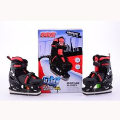 JOHNTOY Sportline Schlittschuhe Jungen, Gr. 30-33, verstellbar #schlittschuh #schnee #eis #eislaufen #wintersport #spaßimschnee #schlitten #schlittenfahren #winterspaß #kinder Den, Baby Car Seats, Children, Snow Ice Cream, Ice Skating, Boys, Kids, Young Children, Children's Comics