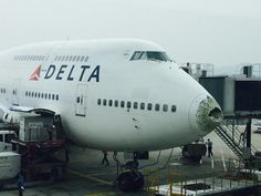 June 16, 2015 - Delta Air Lines Flight 159, a Boeing 747 from Detroit Metropolitan Wayne County Airport to Seoul, Incheon International Airport was over Chinese airspace when the aircraft flew through a severe hailstorm. This resulted in substantial damage to the aircraft's radome (hail penetrating nose causing a large hole) as well as leading edges of the wing destroyed and damage to the tail plane.