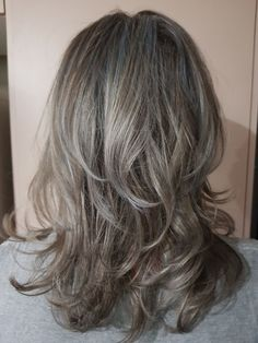 Bob with Fuchsia Streaks - 40 Two Tone Hair Styles - The Trending Hairstyle Chic Hairstyles, Trending Hairstyles, Ladies Hairstyles, Long Gray Hair, Dark Hair, Short Hair, Gray Hair Highlights, Natural Hair Styles, Long Hair Styles
