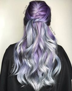 Purple and silver by Guy Tang