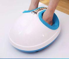 Hot venda nova chegadas de pé elétrico equipamento de massagem nos pés dispositivo de cuidados de ferramentas com função de aquecimento promoção(China (Mainland))