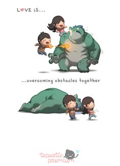 Love Is... Overcoming Obstacles - image