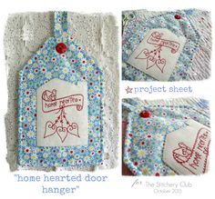 The Stitchery Club - join now and receive six new patterns via email every month!