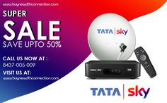 Your search for the best dth offers with Tata Sky new Connection ends here. We have some of the best Tata Sky DTH Offers and HD packages for our clients. Sky New, Flow, Connection, Audio, Entertainment, Website, Amazing, Entertaining