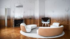 Fading History: Ramy Fischler Transforms An Art Deco Apartment Into A Contemporary Pied-à-terre   Yatzer