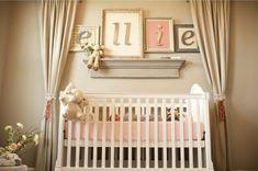 babyzimmer deko ideen mädchen dekoideen warme farben