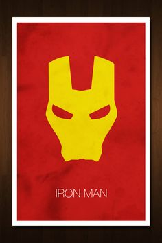 #IronMan #Avenger Art Print - Poster Inspired by Comic Book and Film 'The Avengers'