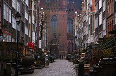 Ulica Mariacka i kościół Mariacki