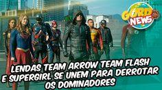 Legends of Tomorrow - Imagens mostra equipe reunida para acabar com os D...