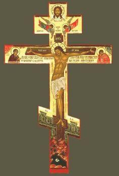 Συσταυρούμενοι καθημερινὰ μὲ τὸν Χριστό, λαμβάνουμε πολλὴ Χάρι. Holy Cross, Jesus On The Cross, World Map Wallpaper, Supernatural Tattoo, Old Rugged Cross, Byzantine Icons, Religious Icons, Knights Templar, Orthodox Icons
