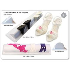 PME Ladies Shoe Heel and Top Former Plastic Cutter Set 2Piece ** Want additional info? Click on the image.(This is an Amazon affiliate link)