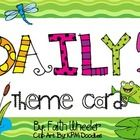 This packet was created to use with The Daily 5 Book by Gail Boushey & Joan Moser. The theme used with these cards is frogs. This also aligns wit...