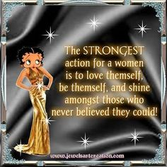 Send FREE Betty Boop Sayings-Ecards, Christmas-Ecards-Birthday-Ecards to Friends, Relatives and Co-Workers Black Betty Boop, Betty Boop Pictures, Diamond Are A Girls Best Friend, Woman Quotes, Strong Women, My Idol, Life Lessons, Arrow, Best Friends