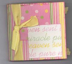 Baby Album Layout Ideas   Scrapbook Idea: Scrapbooking Page Ideas Sweet Baby Girl Album