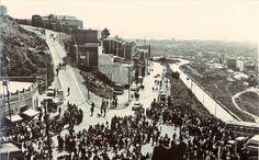 Carretera del Carmelo, un Domingo de Ramos en los años 60. Autor desconocido