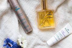 3 FAVORITES FROM A NUXE - szepseglabor.blogspot.com Nuxe, Creme, Perfume Bottles, Beauty, Beauty Illustration