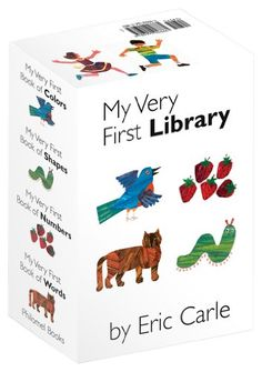 My Very First Library by Eric Carle http://smile.amazon.com/dp/0399246665/ref=cm_sw_r_pi_dp_gMRuub1X7RAZD
