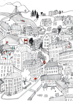 Finnish Red Cross Text On Photo, Red Cross, Photo Art, Abstract Art, Cityscapes, Drawings, Illustration, Blog, Painting